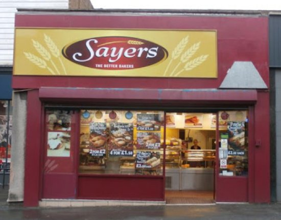 Sayers from the main road in Heswall.