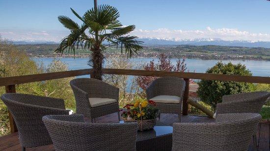 Hotel-Restaurant Mont-Vully: Lounge