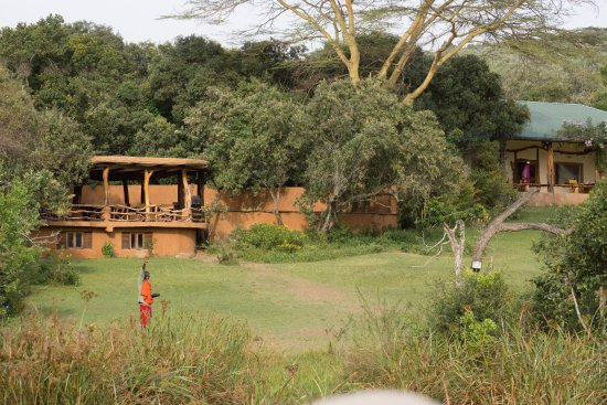 Mara Bush Houses, Asilia Africa: View of Mara and Acacia Houses