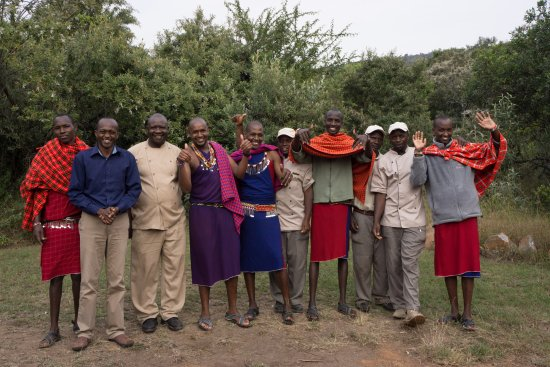 Mara Bush Houses, Asilia Africa: Some of the awesome staff!
