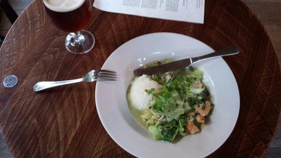 Shepperton, UK: Great Thai green curry