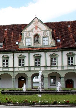 Benediktbeuern, Tyskland: Klosterhof