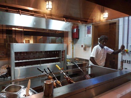 Al Wakra, Qatar: Meat Grilling area