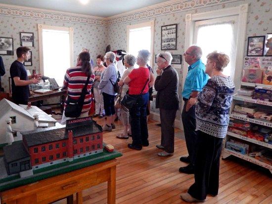 Sainte-Marie, Canada: Visite à la maison J.-A. Vachon