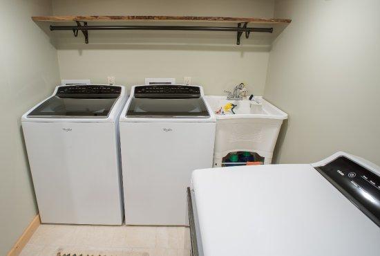 Wilson, WY: Laundry Room