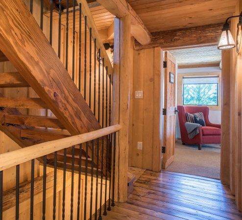 Wilson, WY: Interior Stairwell