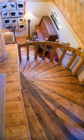 Wilson, WY: Spiral Stairs
