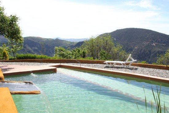 Pitres, Spanien: Siempre estábamos solos en la piscina porque hay pocos apartamentos.