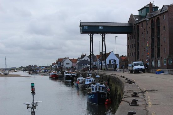 The Merchants House : Wells harbour.