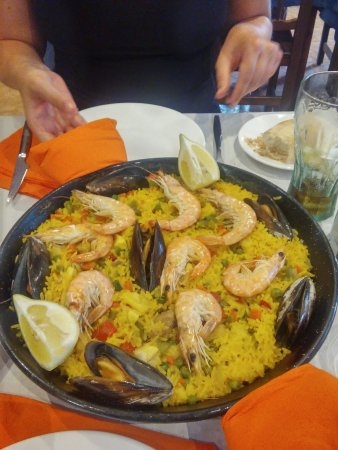 Very nice place, paella was very good.