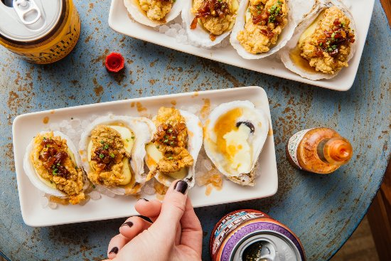 Borgne: Fried Oysters