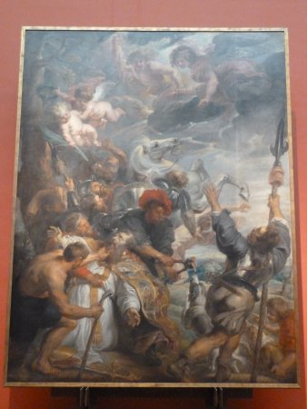 Royal Museums of Fine Arts of Belgium (Musees Royaux des Beaux Arts): A craacing Reubens