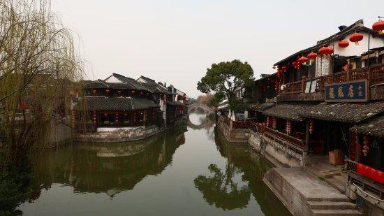 Jiashan County, China: 관광지 내부 풍경