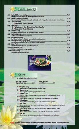 Thai Kitchen Temecula Menu