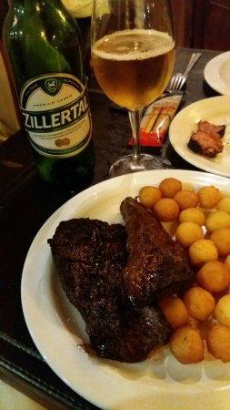 Restaurante La Criolla em Montevidéu.
