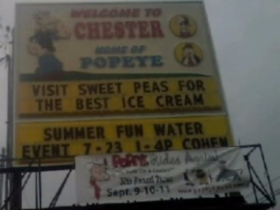 Chester, IL: Home of Popeye