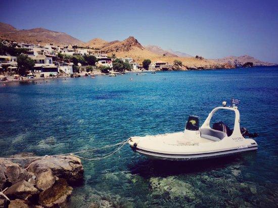 Lentas, Grecia: view from BlueCafe