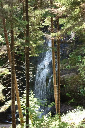 St. Martins, Canadá: Fuller Falls along the Fundy Parkway