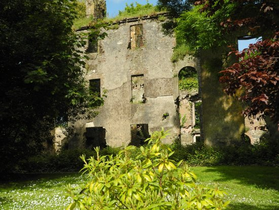 Butlerstown, İrlanda: Another part of the castle remains adjacent to the B&B