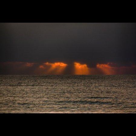 Scamander, Australia: Tempestade se aproximando, por do sol