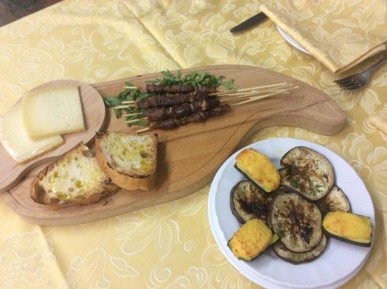 Orsogna, İtalya: Arrosticini