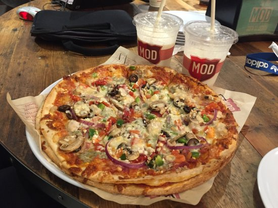 Mod Pizza Leeds Kirkstall Rd Menu Prices Restaurant