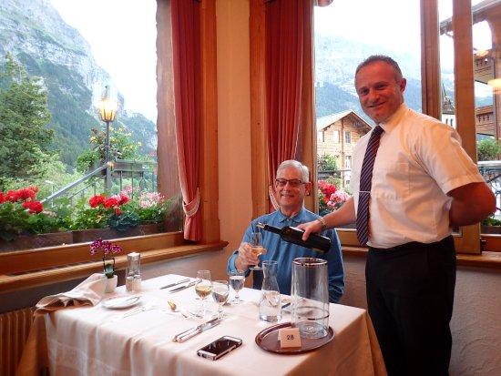 Hotel Gletschergarten: Great service! by Geary himself.