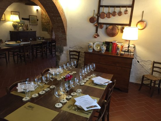 Montalcino, Italy: Private lunch