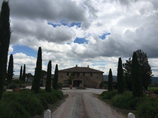 Montalcino, Ιταλία: Front facade