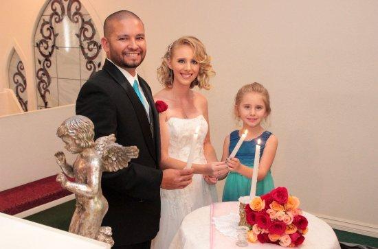 Cupids Wedding Chapel Candle Ceremony