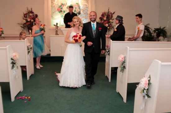 First Time As Man And Wife Picture Of Cupid S Wedding
