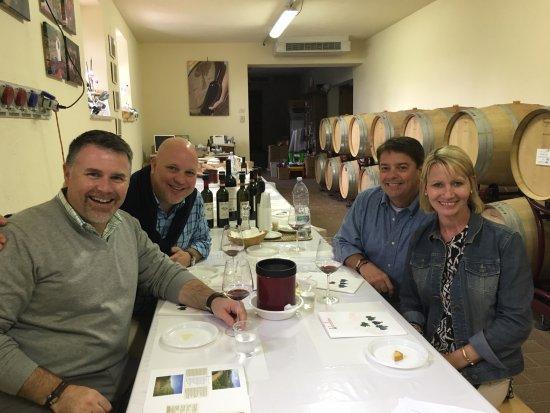 Montalcino, Ιταλία: Private tasting.