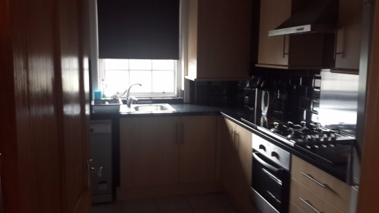 Auld Reekie Apartments: Kitchen with all equipments