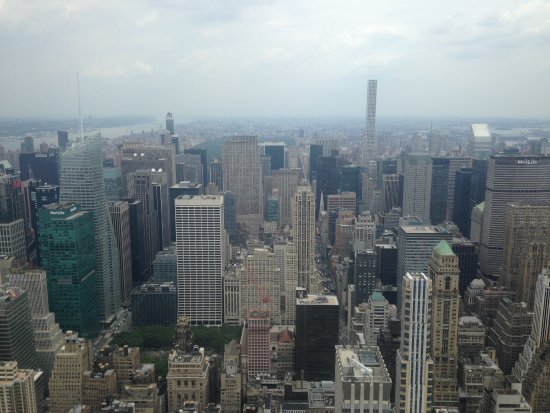 View from the top deck 102nd floor picture of empire for 102nd floor of the empire state building