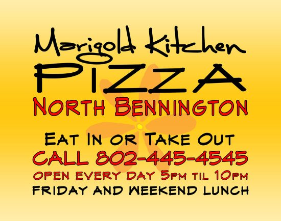 North Bennington, VT: Marigold Kitchen Pizza