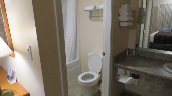 Travelodge Kamloops: Bathroom