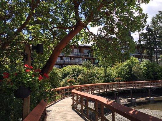 Brentwood Bay Resort & Spa: Resort grounds