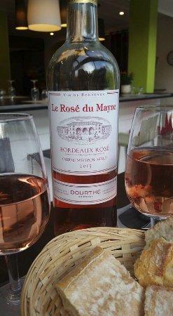 Le Patio: Bordeaux rose