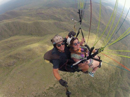 Godoy Cruz, Argentina: PROFE Y YO EN EL VUELO
