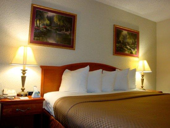 DeFuniak Springs, FL: King Bedded Guest Room