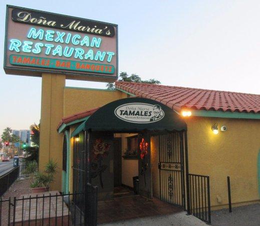 Dona Maria's Tamale Shop: Dona Maria on LV Blvd.
