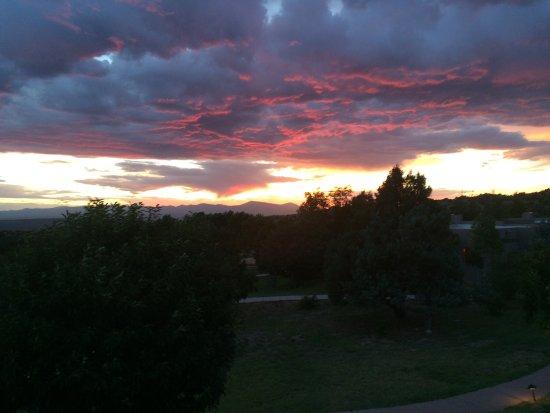 Four Seasons Resort Rancho Encantado Santa Fe: View from the patio and behind cassida 50