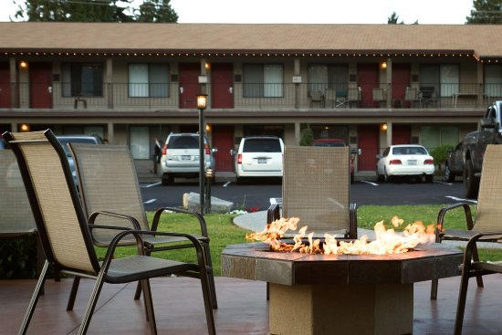 Mountain View Lodge & Resort: Fire Pit