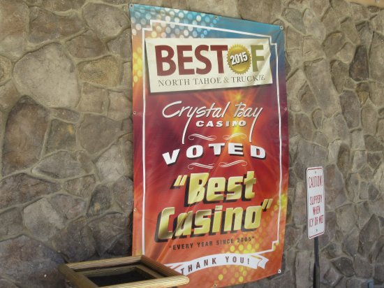 Crystal Bay Club Casino: Best of Award Flag, Crystal Bay Casino, Crystal Bay, CA