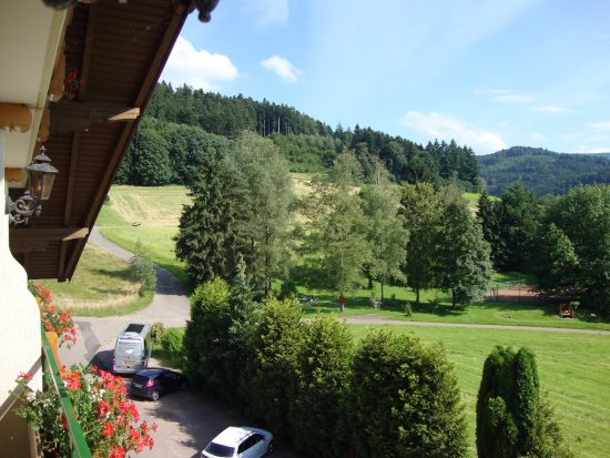 Gutach im Breisgau, Germany: View from our balcony