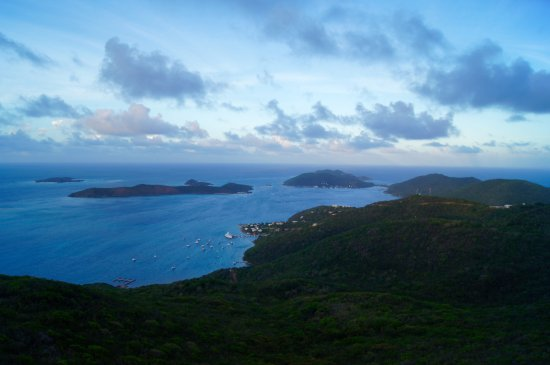 South Sound, Virgin Gorda: View from Hog Heaven