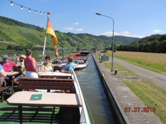 Briedern, Allemagne : Schleusung
