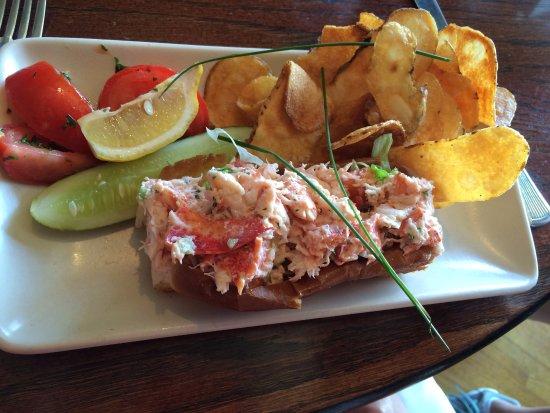 Cape Porpoise, Мэн: Lobster Roll