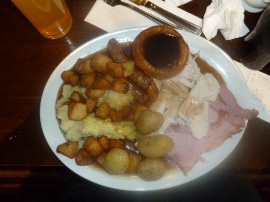 Lasswade, UK: alot of food the the price