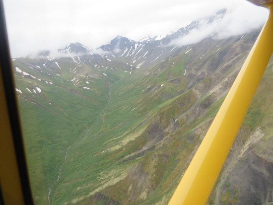McCarthy, AK: The mountainsides are green, green, green!
